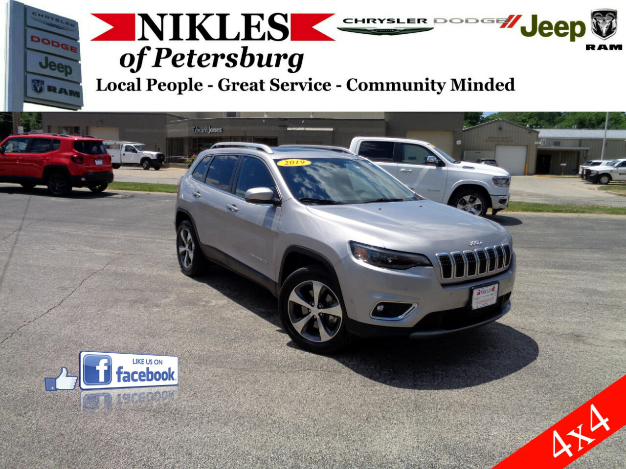 Jeep Cherokee 4dr Limited 4WD 2019