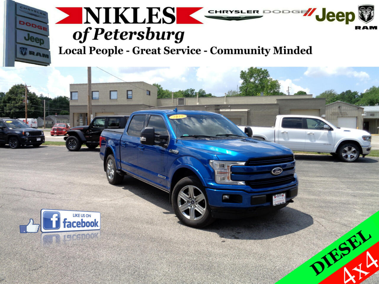"""Ford F-150 4WD SuperCrew 150"""" King Ranch 2018"""