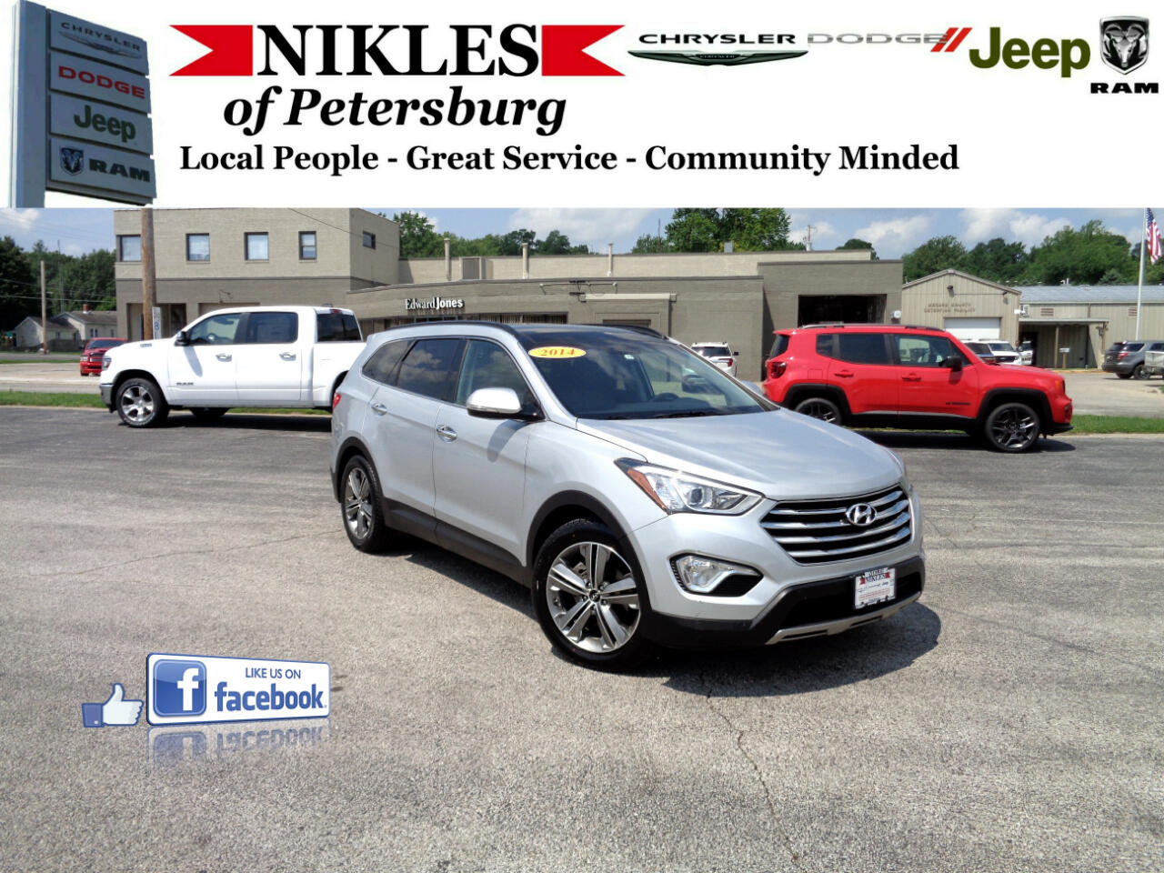Hyundai Santa Fe FWD 4dr GLS 2014