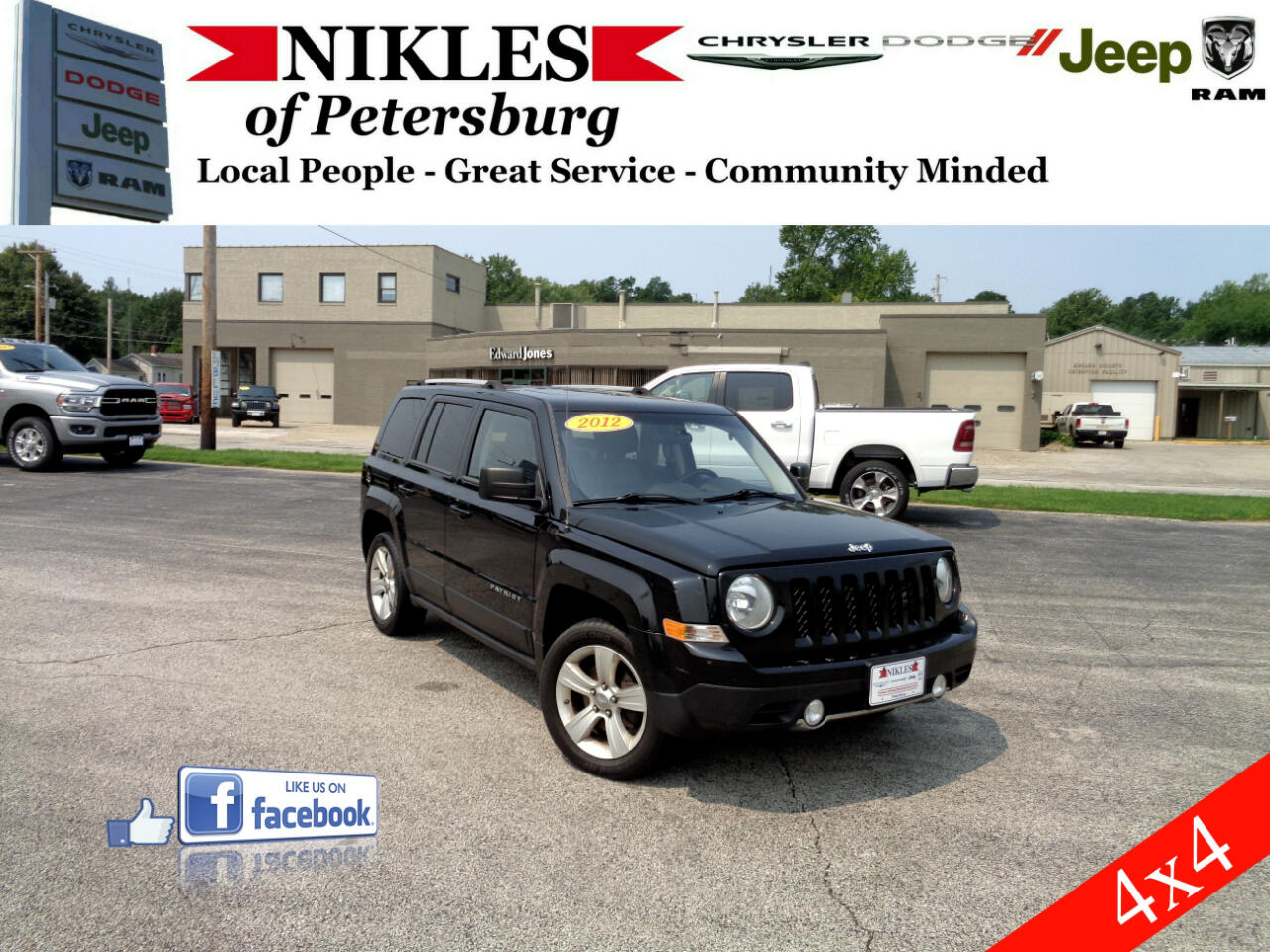 Jeep Patriot FWD 4dr Limited 2012