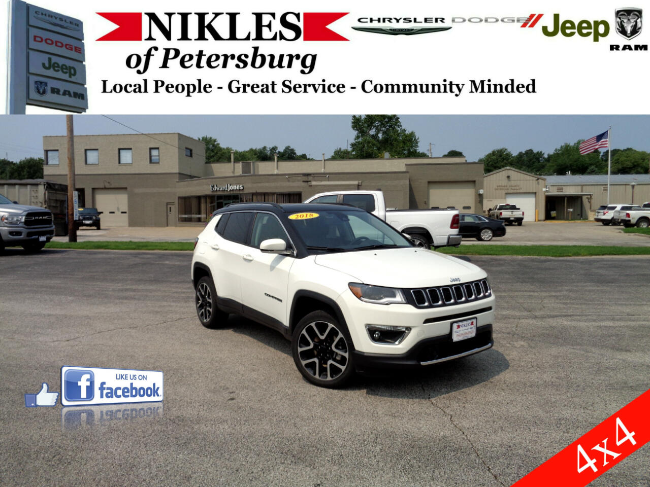 Jeep Compass 4WD 4dr Limited 2018