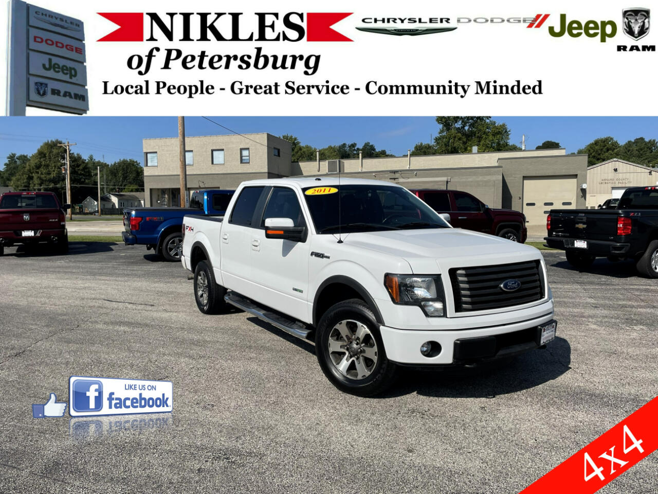 """Ford F-150 4WD SuperCrew 145"""" FX4 2011"""