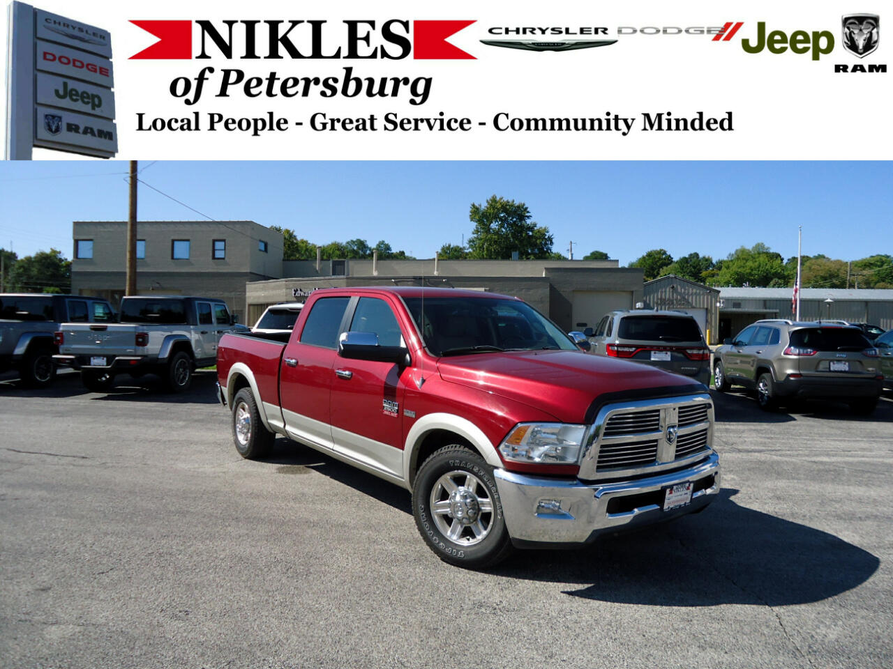 "Dodge Ram 2500 4WD Crew Cab 149"" Laramie *Ltd Avail* 2011"