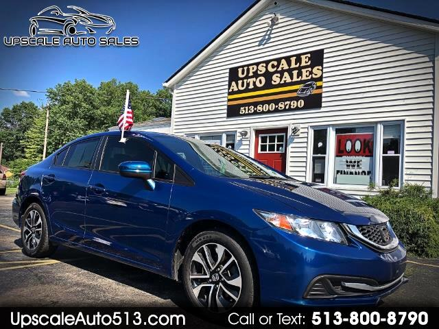 2015 Honda Civic EX Sedan CVT