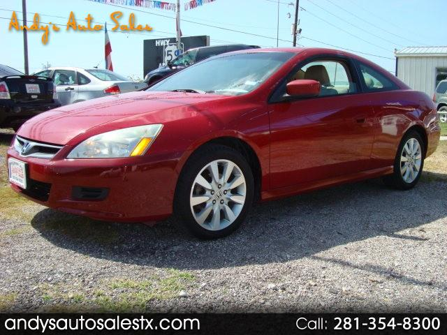 2007 Honda Accord EX-L V-6 Coupe AT