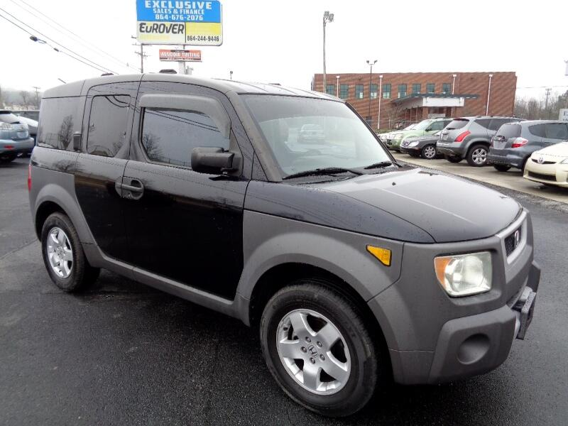 2003 Honda Element EX 4WD AT w/ Front Side Airbags