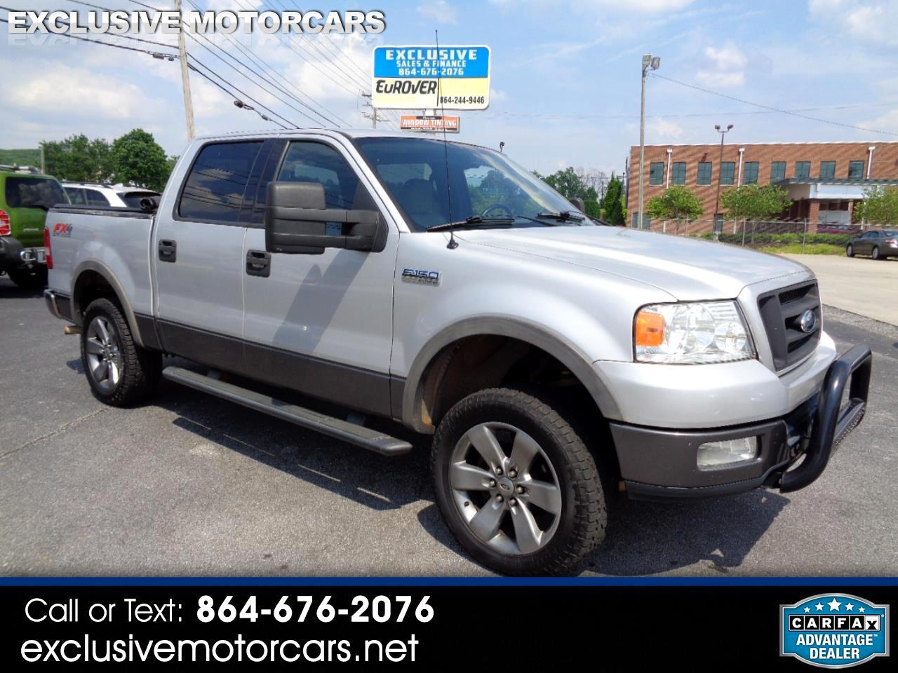 """Ford F-150 SuperCrew 139"""" FX4 4WD 2004"""