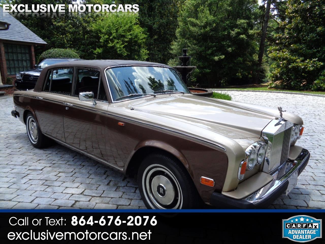 Rolls-Royce Silver Wraith II  1977