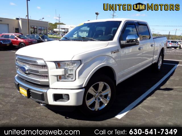 2016 Ford F-150 Platinum 4WD SuperCrew 6.5' Box