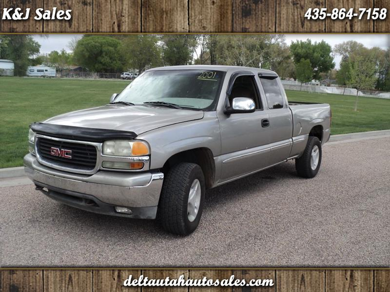 2001 GMC Sierra 1500 SL Ext. Cab Short Bed 4WD