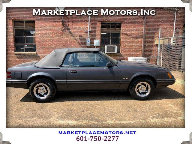 1984 Ford Mustang 2dr Convertible LX Sport 5.0L