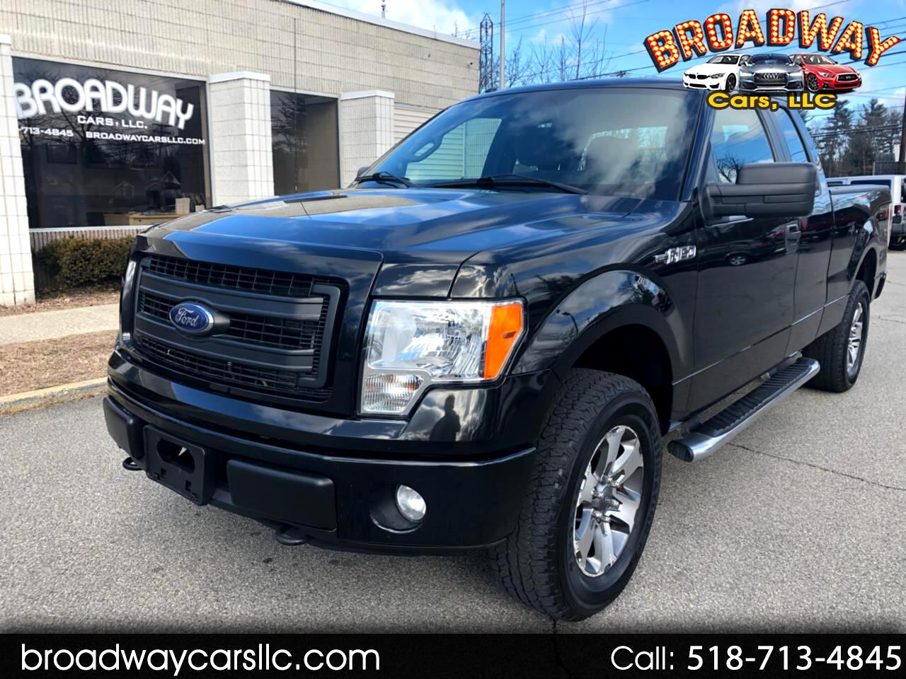 """2013 Ford F-150 4WD SuperCab 145"""" FX4"""