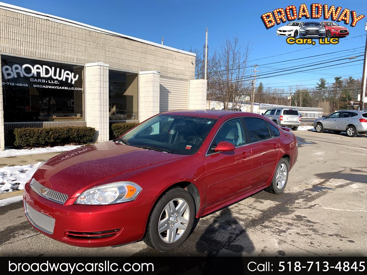 Chevrolet Impala 4dr Sdn LT Retail 2013