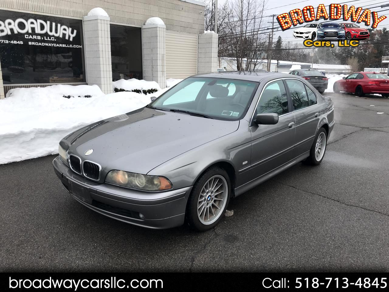 BMW 5 Series 530iA 4dr Sdn 5-Spd Auto 2002