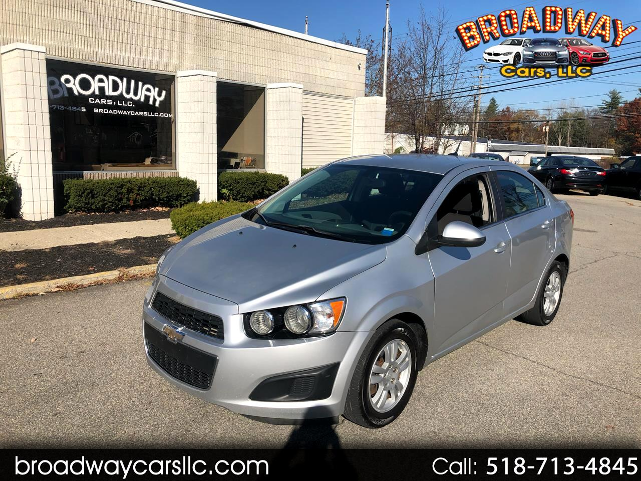 Chevrolet Sonic 4dr Sdn Auto LT 2014