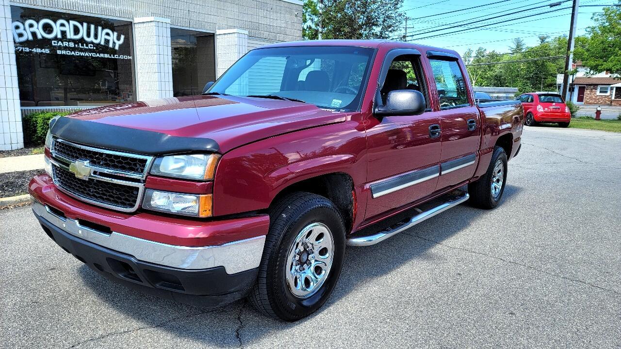 """Chevrolet Silverado 1500 Crew Cab 143.5"""" WB 4WD LS 2006"""