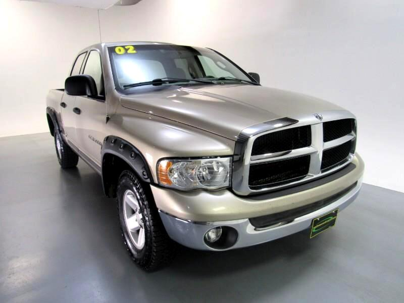 Dodge Ram 1500 SLT Quad Cab Long Bed 4WD 2002