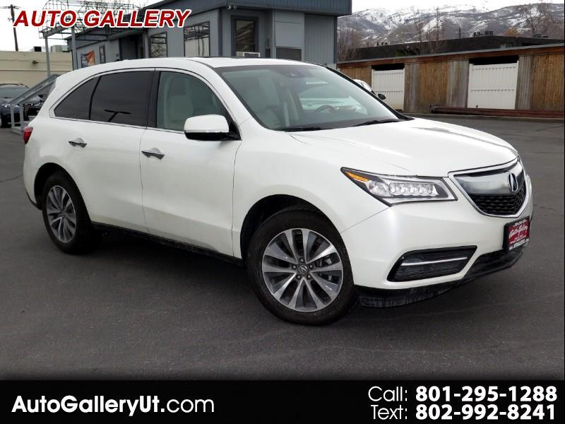 2016 Acura MDX SH-AWD 9-Spd AT w/Tech Package