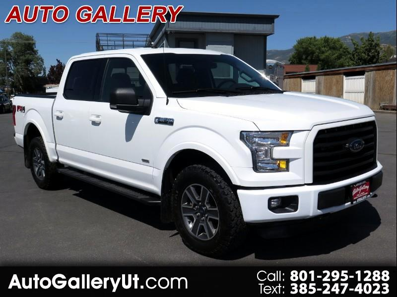 2016 Ford F-150 XLT SuperCrew 5.5-ft. Bed 4WD FX4