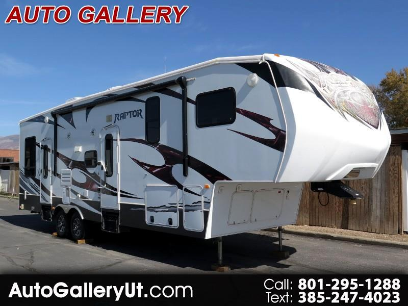 2012 Keystone RV Raptor Toy Hauler 300-MP