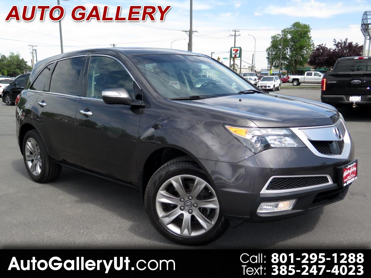 Acura MDX AWD 4dr Advance Pkg 2011