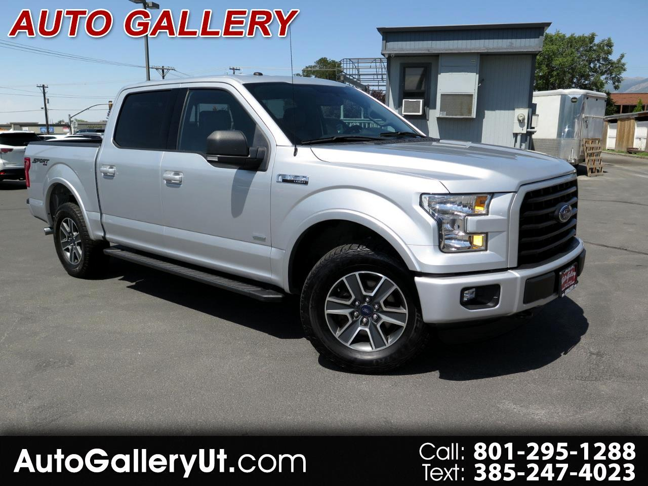 "Ford F-150 4WD SuperCrew 145"" Lariat 2016"