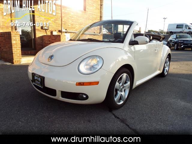2006 Volkswagen New Beetle 2.5L PZEV Convertible