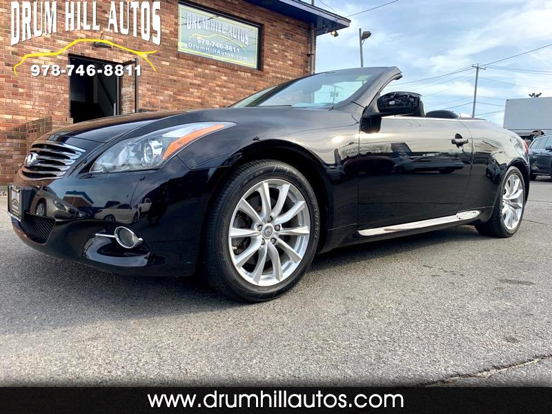 2013 Infiniti G37 Convertible 2dr Anniversary Edition *Ltd Avail*