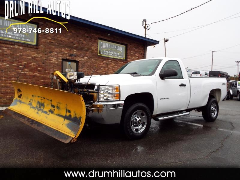 2013 Chevrolet Silverado 2500HD Work Truck Long Box 4WD