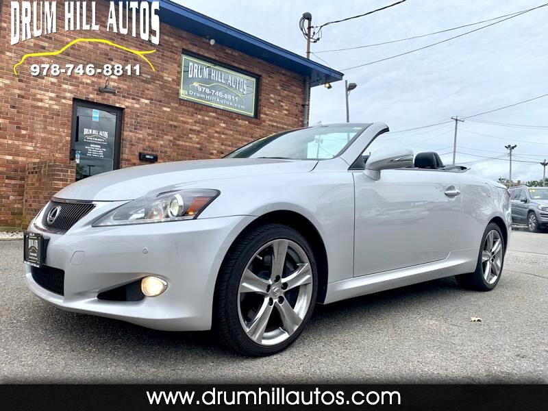 2012 Lexus IS C 350