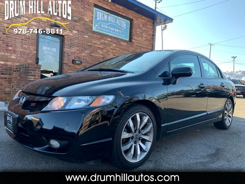 2009 Honda Civic Si Sedan 6-Speed MT
