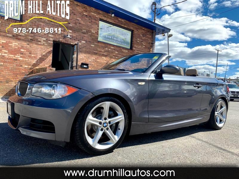 2008 BMW 1-Series 135i Convertible