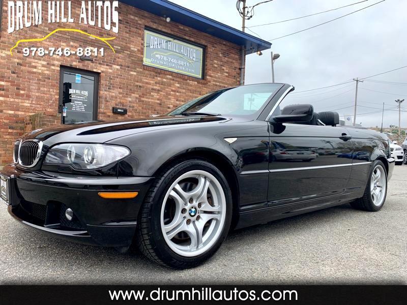 2004 BMW 3-Series 330Ci convertible