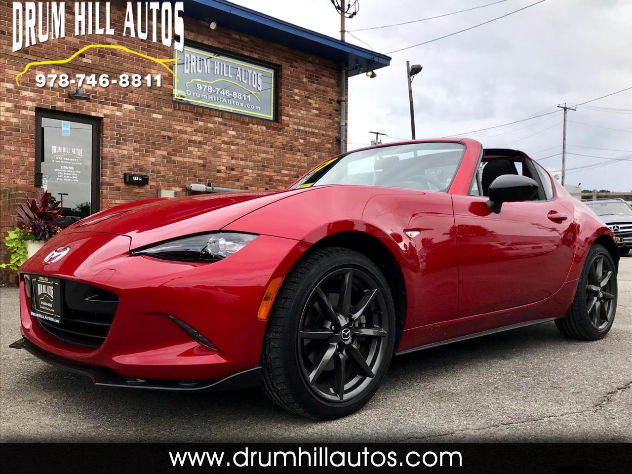 2017 Mazda MX-5 Miata RF Club 6AT