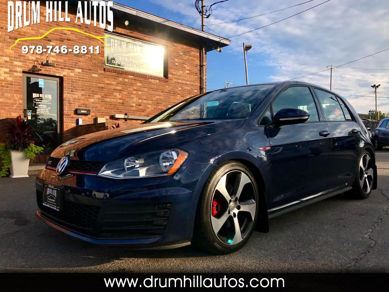 2017 Volkswagen Golf GTI S 6M 4-Door