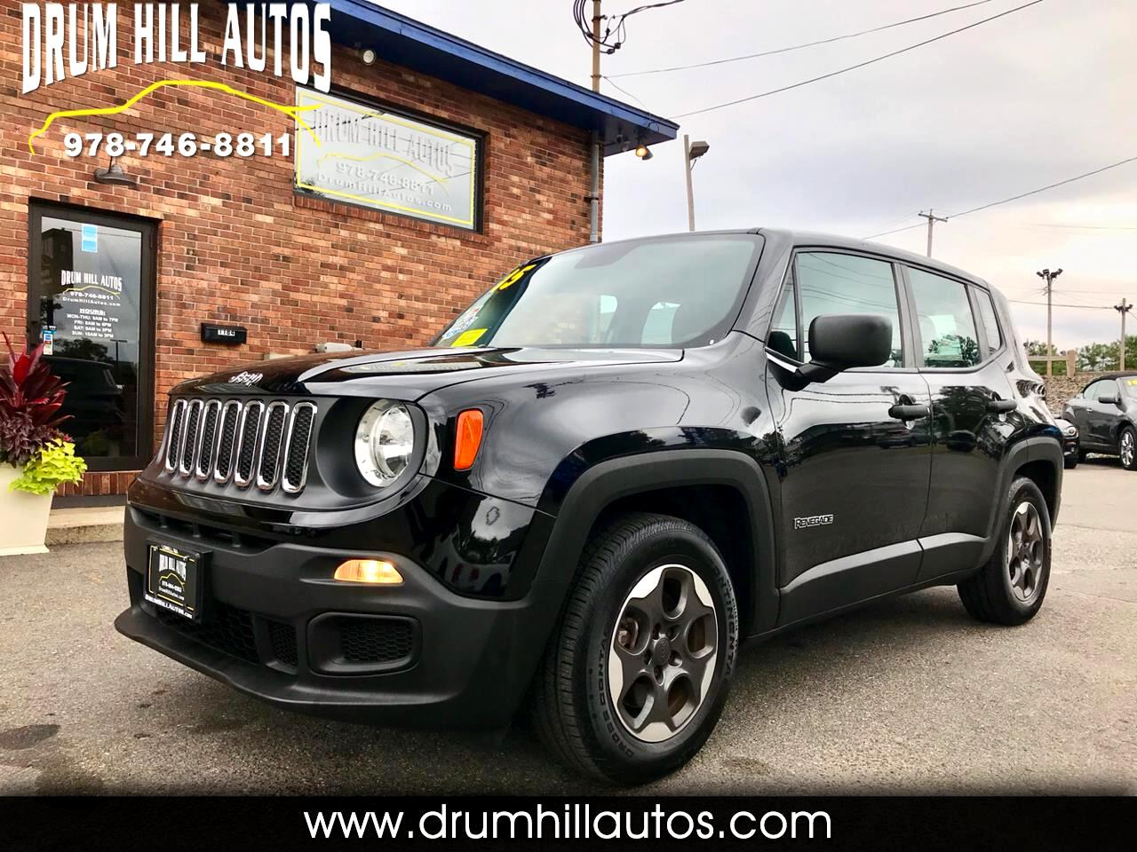 Jeep Renegade FWD 4dr Sport 2015