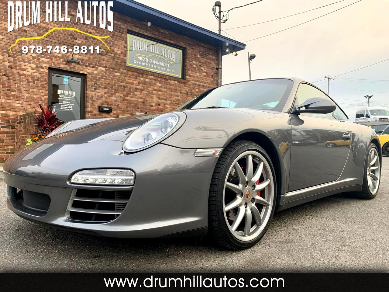2010 Porsche 911 Carrera 4S Coupe