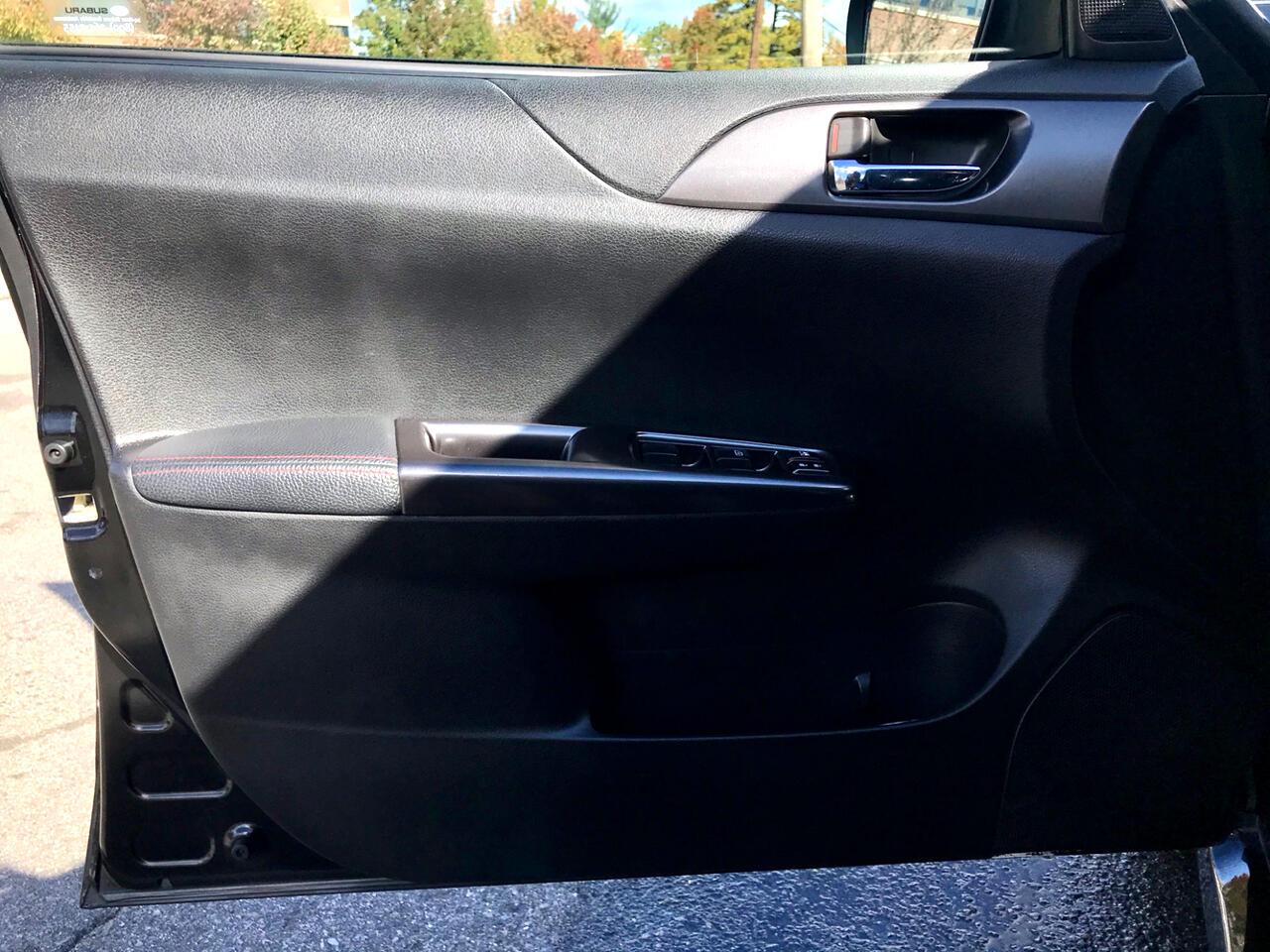 2011 Subaru Impreza WRX STI 4-Door