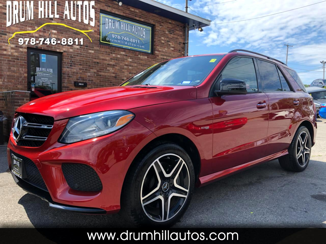 Mercedes-Benz GLE-Class AMG GLE 43 4MATIC 2017