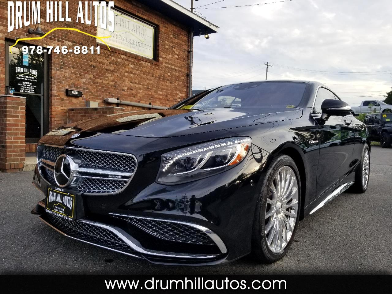 Mercedes-Benz S-Class S65 AMG Coupe 2016