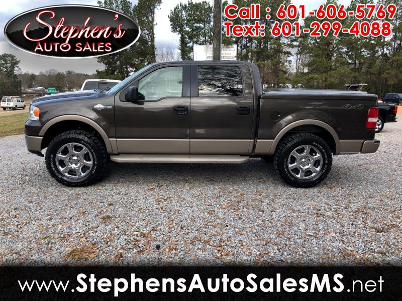 2006 Ford F-150 King Ranch 4WD SuperCrew 5.5' Box