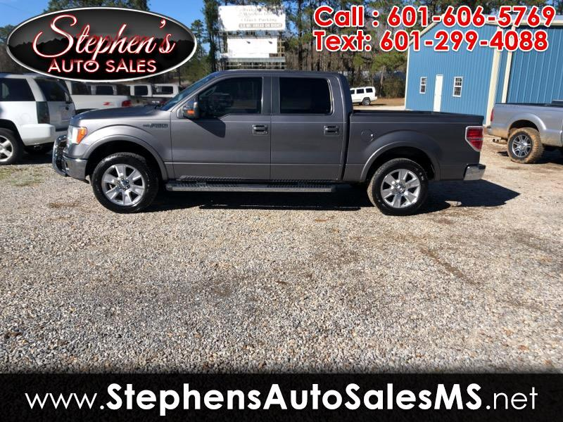 "2011 Ford F-150 SuperCrew Crew Cab 139"" Lariat"