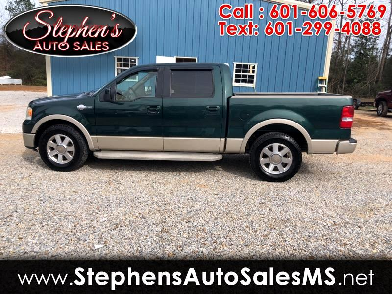 2007 Ford F-150 King-Ranch SuperCrew 5.5-ft. 2WD