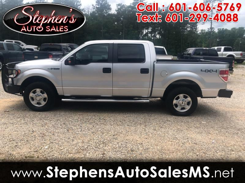 "2012 Ford F-150 4WD SuperCrew 139"" XLT"