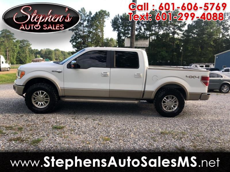 2009 Ford F-150 King-Ranch SuperCrew 5.5-ft. 4WD