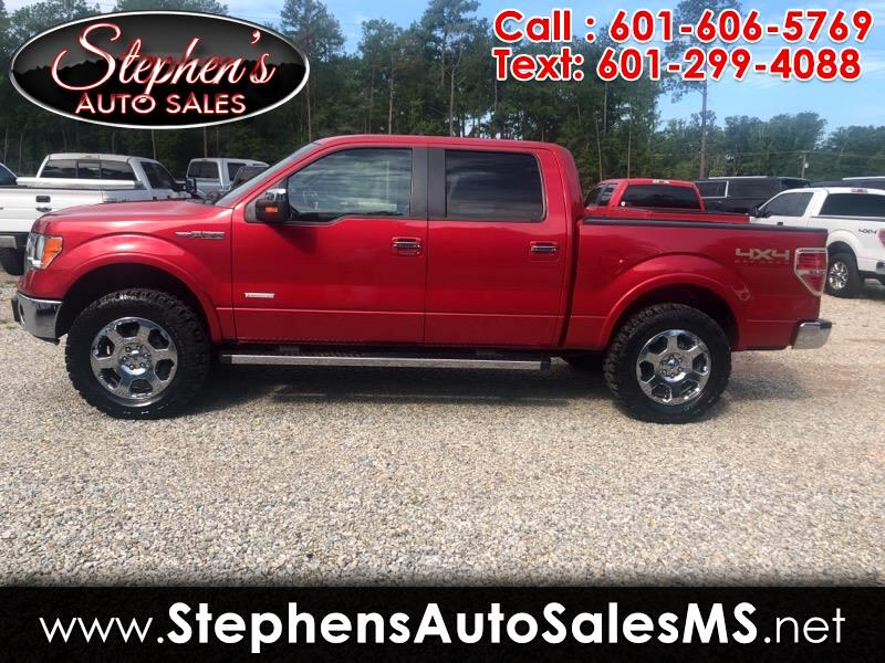 "2012 Ford F-150 Supercab Flareside 139"" 4WD Lariat"