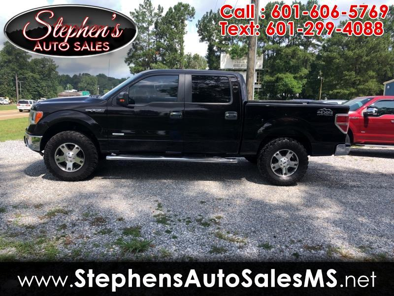 "Ford F-150 SuperCrew 139"" XLT 4WD 2014"