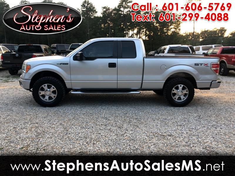 "2010 Ford F-150 Supercab Flareside 145"" STX 4WD"