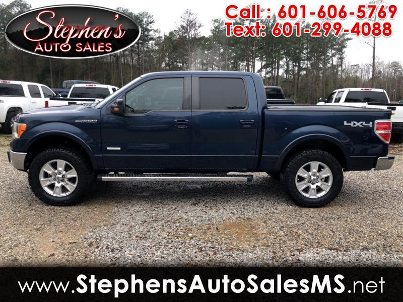 "Ford F-150 4WD SuperCrew 139"" Lariat 2013"