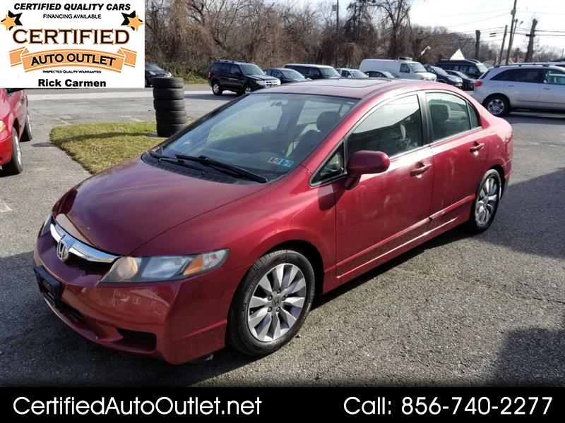 2011 Honda Civic EX Sedan 5-Speed AT